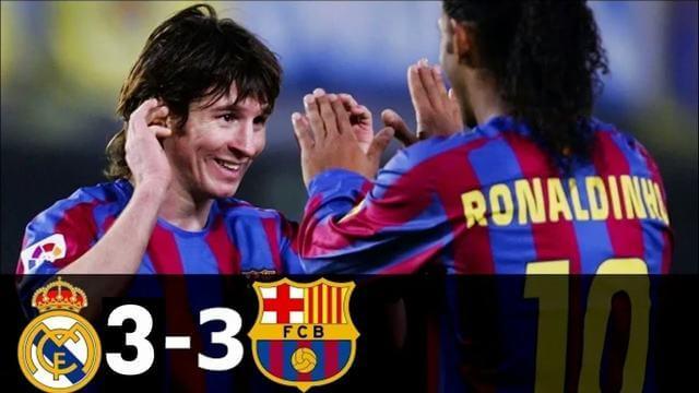 El Clasico 2007 ghi dấu chiến thắng cho Barcelona và sự ra mắt hoàn hảo của Messi
