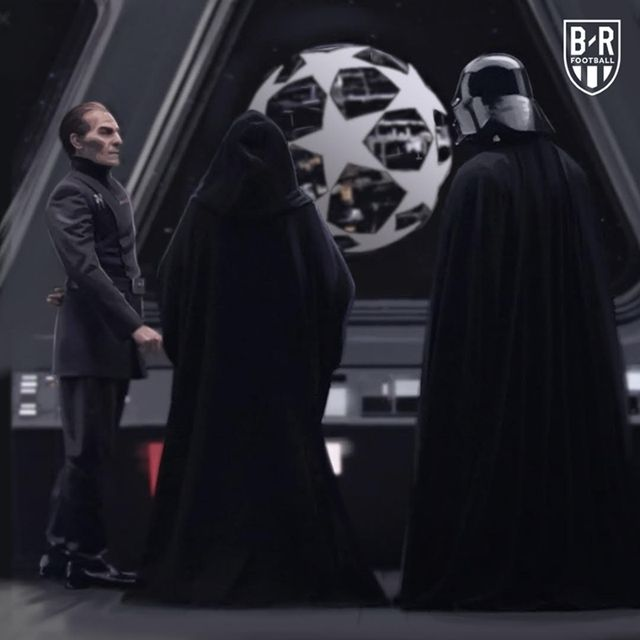 """Bộ phim """"Chiến tranh giữa các vì sao"""" cũng không tránh khỏi Fan Champions League"""