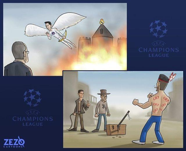 Trên sân nhà, PSG vùi dập Real, Atletico Madrid may mắn thoát thua trước Juventus.
